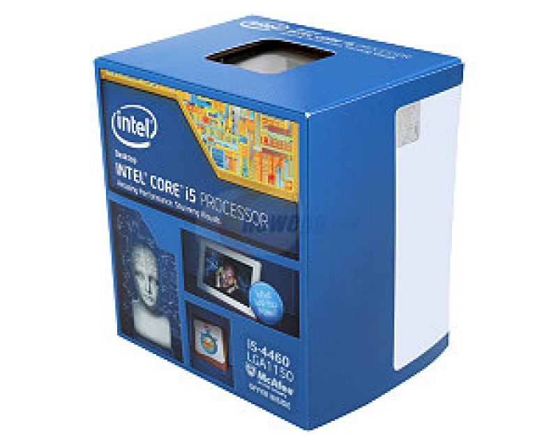 Intel Core i5-4460 Haswell Quad-Core 3.2GHz LGA 1150 Desktop Processor Intel HD Graphics 4600 BX80646I54460