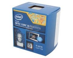 Intel Core i5-4570 Haswell Quad-Core 3.2GHz LGA 1150 84W Desktop Processor Intel HD Graphics BX80646I54570