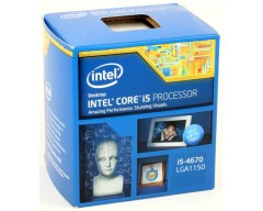 Intel Core i5-4670 Haswell Quad-Core 3.4GHz LGA 1150 84W Desktop Processor Intel HD Graphics BX80646I54670