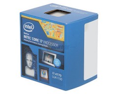 Intel Core i7-4770 Haswell Quad-Core 3.4GHz LGA 1150 84W Desktop Processor Intel HD Graphics BX80646I74770