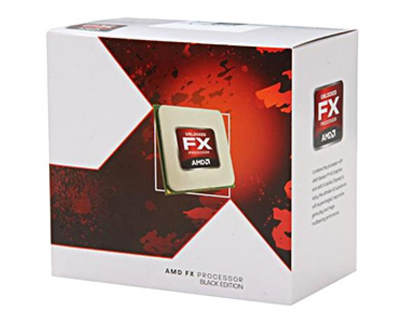 AMD FX-4300 Vishera Quad-Core 3.8GHz (4.0GHz) Socket AM3+ 95W Desktop Processor FD4300WMHKBOX