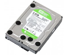 "Western Digital WD Green WD30EZRX 3TB IntelliPower 64MB Cache SATA 6.0Gb/s 3.5"" Internal Hard Drive Bare Drive"
