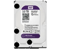 "WD Purple WD30PURX 3TB SATA 6.0Gb/s 3.5"" Hard Drive"