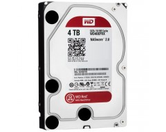 "WD Red WD40EFRX 4TB IntelliPower 64MB Cache SATA 6.0Gb/s 3.5"" NAS Internal Hard Drive -Bulk"