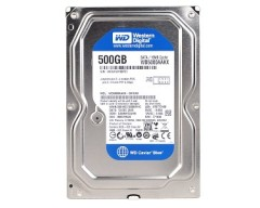 "Western Digital WD Blue WD5000AAKX 500GB 7200 RPM 16MB Cache SATA 6.0Gb/s 3.5"" Internal Hard Drive Bare Drive"