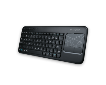 Logitech K400 (920-003070) Black USB RF Wireless Standard Keyboard