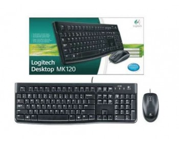 Logitech Desktop MK120 Mouse and keyboard Combo (920-002565)