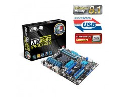 ASUS M5A99FX PRO R2.0 AM3+ AMD 990FX + SB950 SATA 6Gb/s USB 3.0 ATX AMD Motherboard with UEFI BIOS