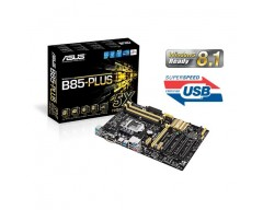 ASUS B85-PLUS LGA 1150 Intel B85 SATA 6Gb/s USB 3.0 ATX Intel Motherboard with UEFI BIOS