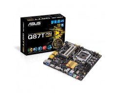 ASUS Q87T/CSM LGA 1150 Intel Q87 HDMI SATA 6Gb/s USB 3.0 Thin Mini-ITX Intel Motherboard For AiO And Ultra Slim Systems
