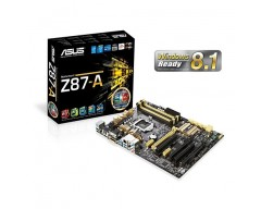 ASUS Z87-A LGA 1150 Intel Z87 HDMI SATA 6Gb/s USB 3.0 ATX Intel Motherboard  [H]ardOCP Gold Award Winner