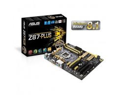 ASUS Z87-PLUS LGA 1150 Intel Z87 HDMI SATA 6Gb/s USB 3.0 ATX Intel Motherboard