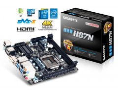 GIGABYTE GA-H87N-WIFI(rev. 2.0) LGA 1150 Intel H87 HDMI SATA 6Gb/s USB 3.0 Mini ITX Intel Motherboard