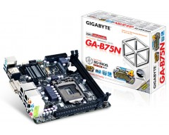 Gigabyte Ultra Durable 4 Classic GA-B75N Desktop Motherboard - Intel B75 Express Chipset - Socket H2 LGA-1155