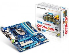 GIGABYTE GA-Q77M-D2H LGA 1155 Intel Q77 HDMI SATA 6Gb/s USB 3.0 Micro ATX Intel Motherboard with UEFI BIOS