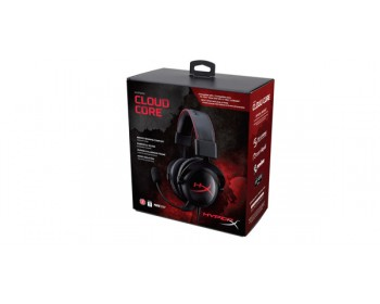 Kingston HyperX Cloud Core Gaming Headset - Bk KHX-HSCCBK