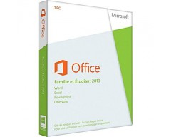 Microsoft office 2013 home and student  , Retail French 79G-03607