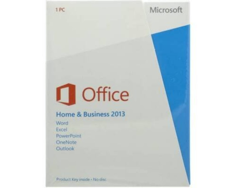 Microsoft Office Home & Business 2013 ENGLISH  T5D-01575
