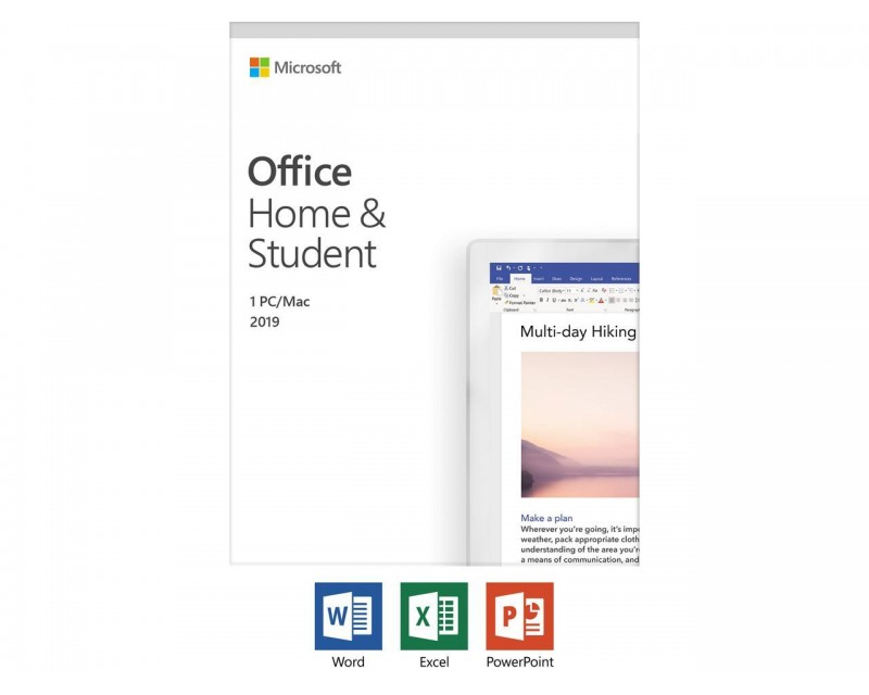 Microsoft office 2019 home and student, Retail   #79G-05029