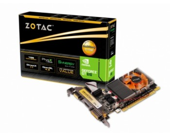ZOTAC GeForce GT 610 Synergy Edition 1GB   ZT-60602-10L
