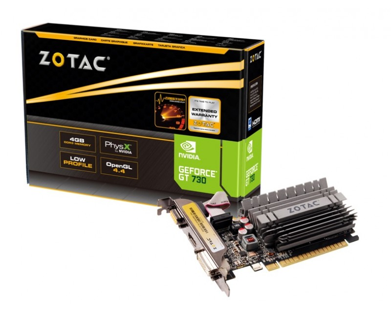 ZOTAC GeForce GT 730 (ZT-71115-10L)