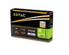 ZOTAC GeForce GT 720 ZT-71202-10L 1GB 64-Bit DDR3 PCI Express 2.0 x 8 HDCP Ready Low Profile Ready Video Card
