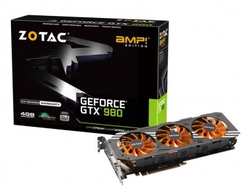 ZOTAC GeForce GTX 980 AMP! Edition ZT-90204-10P